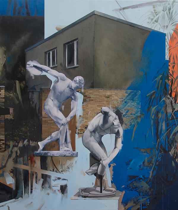 gefilterte Abbildung Oil on Canvas (120cm x 100cm) 2019