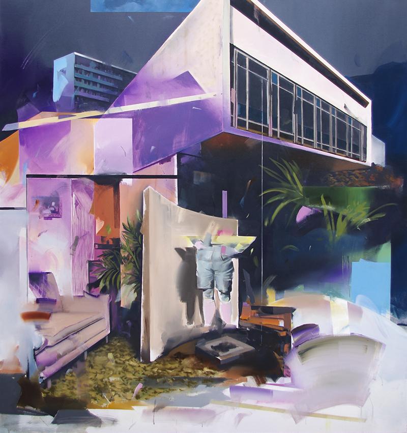 Christoph Rode, abgelehnt Oil on Canvas (150cm x 140cm) 2019