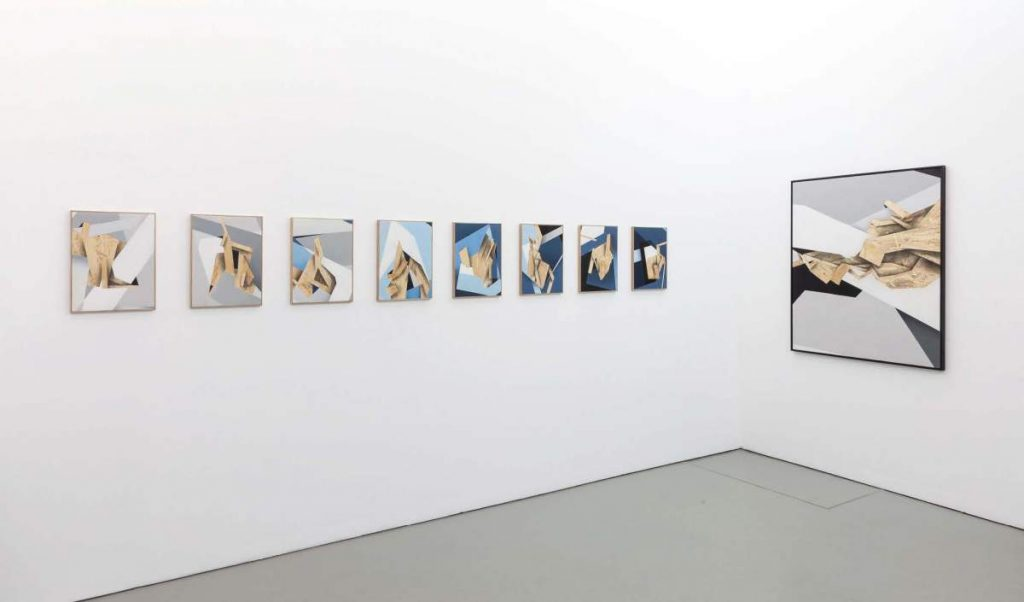 Dave Großmann, Ausstellungsansicht SEMI COLLAPSE
