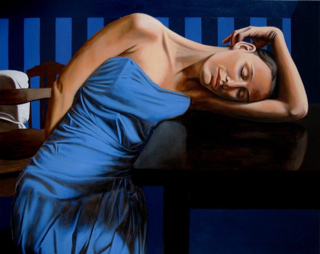 FRK 2, Oil on Canvas (80 x 100 cm) 2008