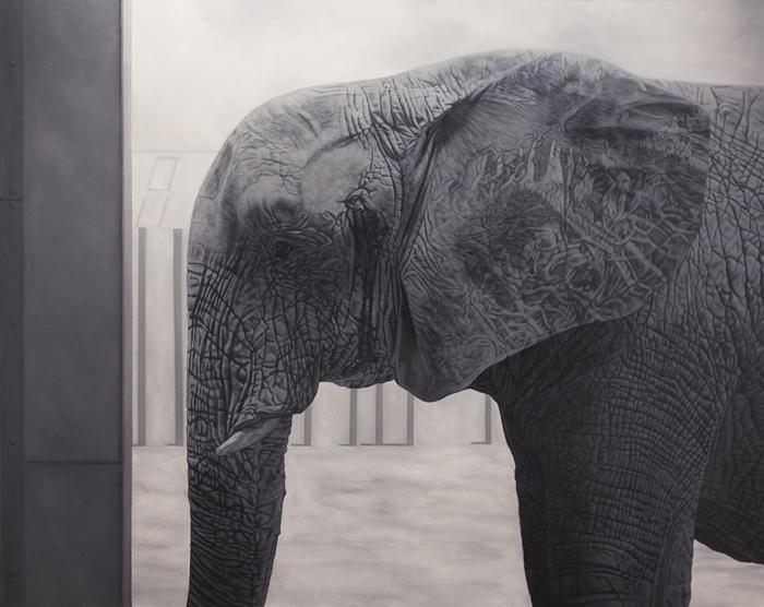 Mafuta, Oil on Canvas (120 x 150 cm) 2014