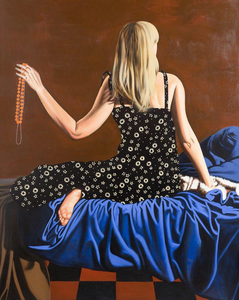 Perlenkette, Oil on Canvas (150 x 120 cm) 2010