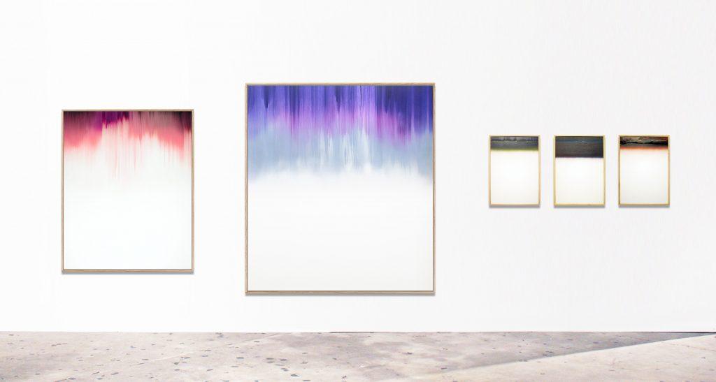 Konstantin Rosenkranz, Installation view: Licht im Raum
