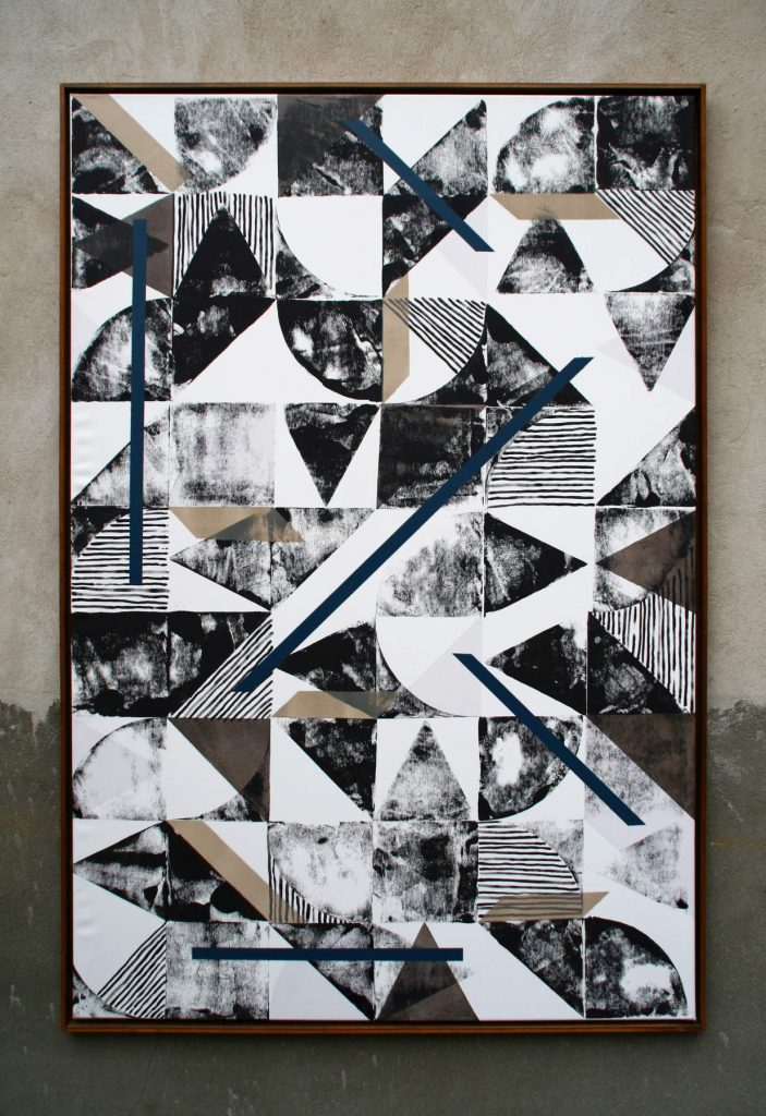 o.T. 12, Acrylic on canvas (180 x 120 cm) 2015