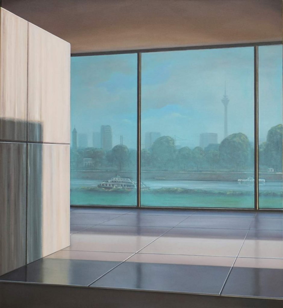 Düsseldorf II, 2019, 110x100cm, Oil on Canvas